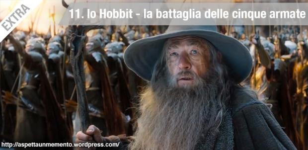 Peter Jackson, ian mckellen, gandalf, lo hobbit, la battaglia delle cinque armate, tatuaggio, recensione